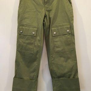 Banana Republic cargo cuff pants